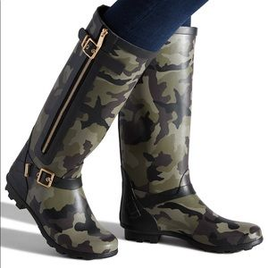 ❤️ Camo Rain Boots Tall Boots Hunter or Not Snow